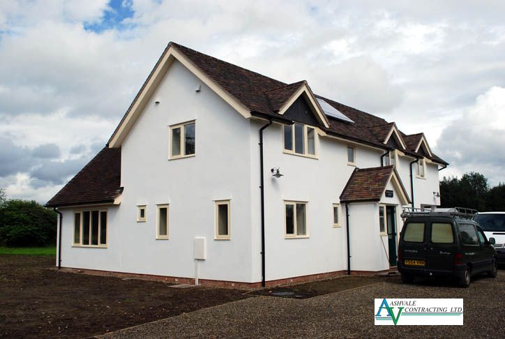 An energy efficient home built by Ashvale Contracting Ltd.